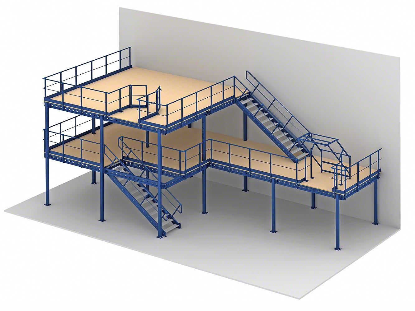 Mezzanine Floor Manufacturer In Delhi